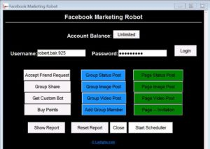 facebook marketing bot