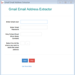 gmail email collector